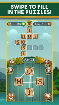 Word Nut: Word Puzzle Games & Crosswords APK screenshot 1