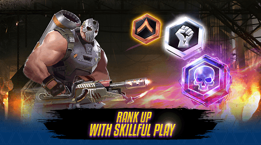 Mayhem - PvP Multiplayer Arena Shooter APK screenshot 1