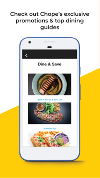 Chope Restaurant Reservations APK screenshot 1