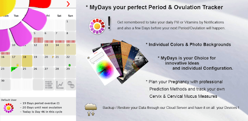 My Days X - Ovulation Calendar & Period Tracking pc screenshot