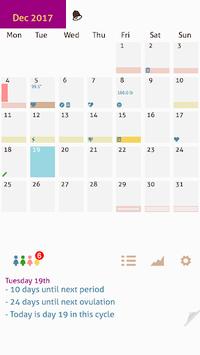 My Days X - Ovulation Calendar & Period Tracking APK screenshot 1
