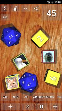 DnDice - 3D RPG Dice Roller APK screenshot 1