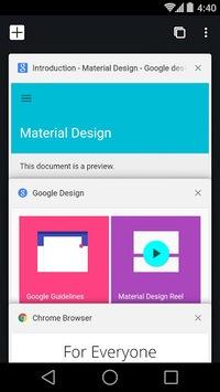 Chrome Beta APK screenshot 1