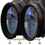 Military Binoculars Simulated icon