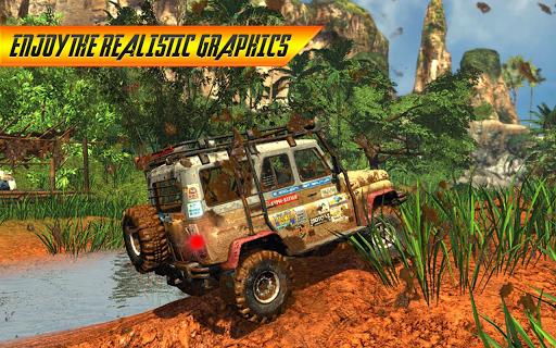 Off road 4X4 Jeep Racing Xtreme 3D APK screenshot 1