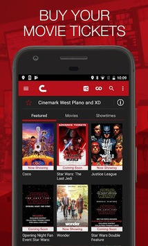 Cinemark Theatres APK screenshot 1