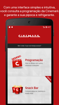 Cinemark Brazil pc screenshot 1