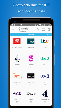 TV Guide UK EPG free APK screenshot 1