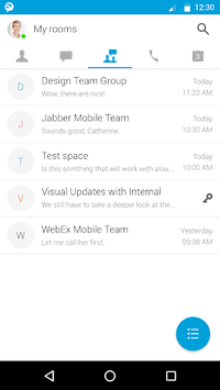 Cisco Jabber APK screenshot 1