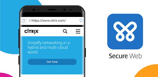 Citrix Secure Web pc screenshot