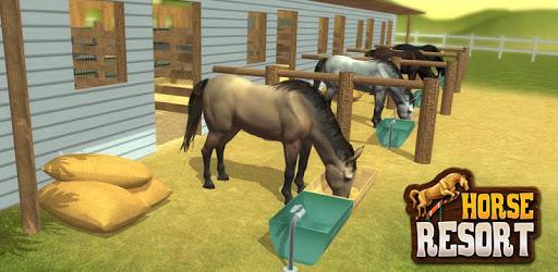 My horse hotel resorts : train & care horses pc screenshot