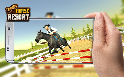My horse hotel resorts : train & care horses APK screenshot 1