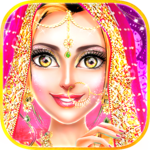 Traditional Wedding Salon - Makeup & Dress up Game icon