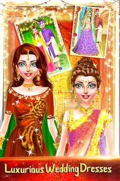 Traditional Wedding Salon - Makeup & Dress up Game APK screenshot 1