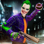 City Gangster Clown Attack 3D icon