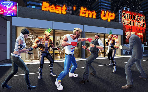 Rage Fight of Streets - Beat Em Up Game APK screenshot 1