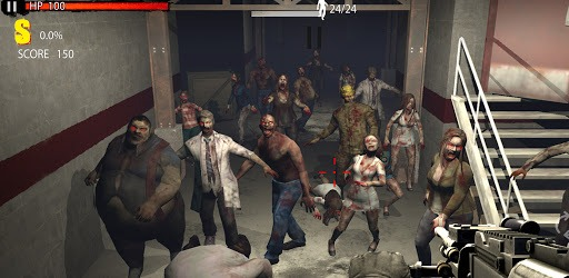 Zombie Shooting Game: Zombie Hunter D-Day pc screenshot