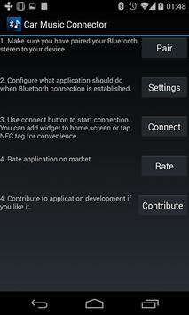 Car Music Connector APK screenshot 1