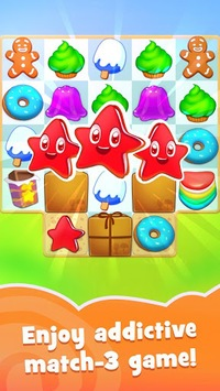 Candy Riddles: Free Match 3 Puzzle APK screenshot 1
