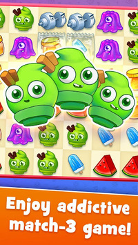 Sugar Heroes - World match 3 game! APK screenshot 1