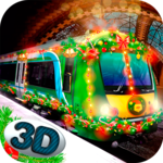 Christmas Train Driving Sim icon