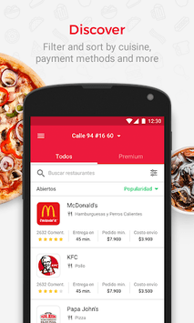 Domicilios.com - Order food APK screenshot 1