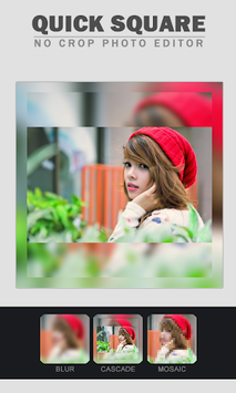 Quick Square - No Crop Photo Editor APK screenshot 1