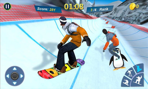 Snowboard Master 3D APK screenshot 1