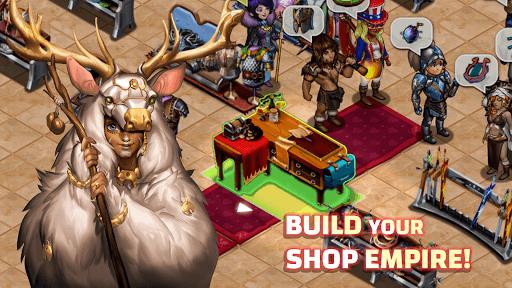Shop Heroes: Adventure Quest APK screenshot 1
