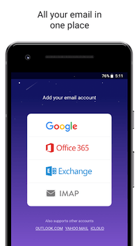 Newton Mail - Email App for Gmail, Outlook, IMAP APK screenshot 1