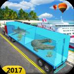 Sea Animal Cargo Truck Free icon