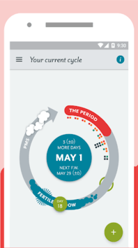 Period Tracker Clue: Period & Ovulation Tracker APK screenshot 1
