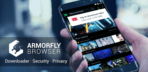 Armorfly Browser & Downloader - Private , Safe pc screenshot