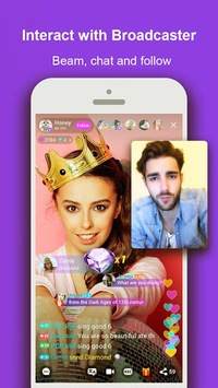 LiveMe - Video chat, new friends, and make money APK screenshot 1