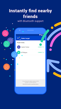 CM Transfer - Share any files with friends nearby APK screenshot 1