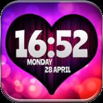 Love Digital Clock FOR PC