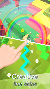 Dancing Line APK screenshot 1