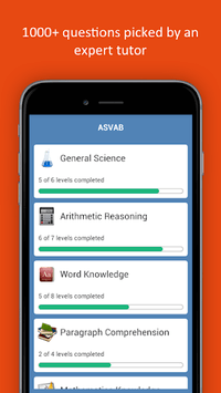 ASVAB Practice Test 2019 Edition APK screenshot 1