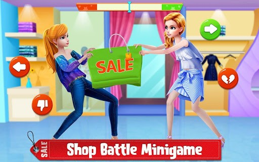 Shopping Mania - Black Friday Fashion Mall Game APK screenshot 1
