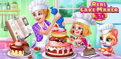 Real Cake Maker 3D - Bake, Design & Decorate pc screenshot