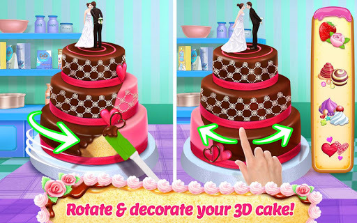 Real Cake Maker 3D - Bake, Design & Decorate APK screenshot 1