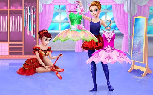 Pretty Ballerina - Dress Up in Style & Dance APK screenshot 1