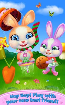 Baby Bunny - My Talking Pet APK screenshot 1