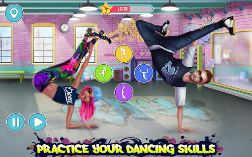 Hip Hop Battle - Girls vs. Boys Dance Clash APK screenshot 1