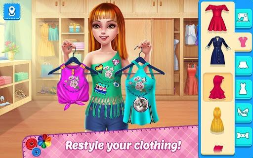 DIY Fashion Star - Design Hacks Clothing Game APK screenshot 1