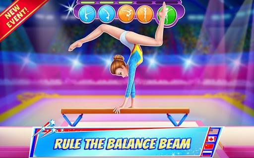 Gymnastics Superstar - Spin your way to gold! APK screenshot 1
