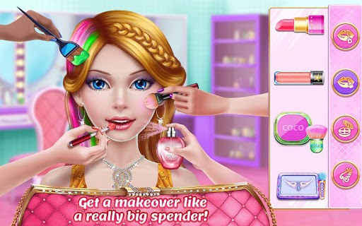Rich Girl Mall - Shopping Game APK screenshot 1