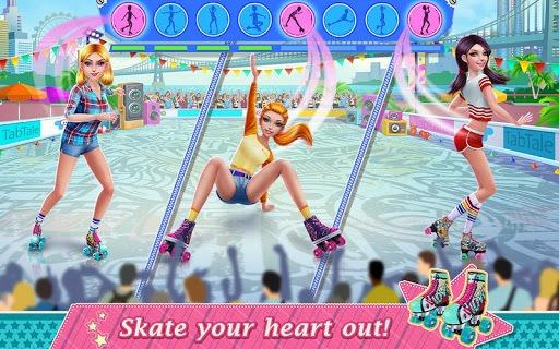 Roller Skating Girls - Dance on Wheels APK screenshot 1