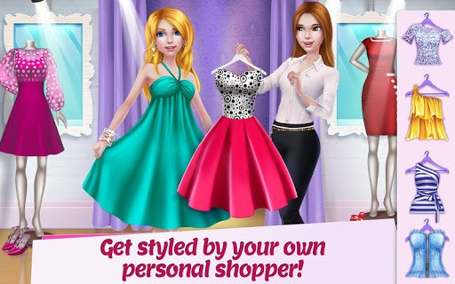 Shopping Mall Girl - Dress Up & Style Game APK screenshot 1