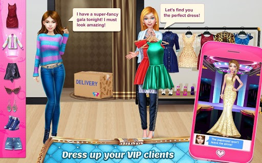 Stylist Girl - Make Me Gorgeous! APK screenshot 1